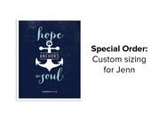 Special Order for Jenn