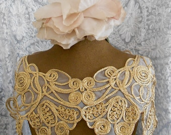 Gold Braided Appliques