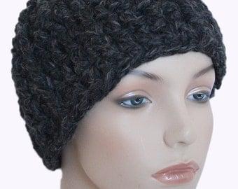 Charcoal Chunky Hat