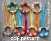 Crochet pattern teething ring by ATERGcrochet