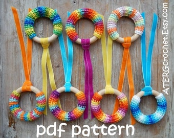Crochet pattern teething ring by ATERGcrochet