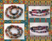 """Printable Paper Bead Sheet Colors Of Holi A and B 8.5""""x11"""" paper"""
