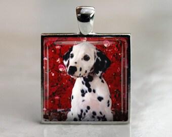 Dalmation Dog Pendant