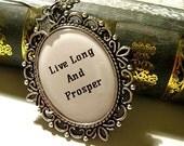 Live Long And Prosper Star Trek Inspired Necklace Pendant
