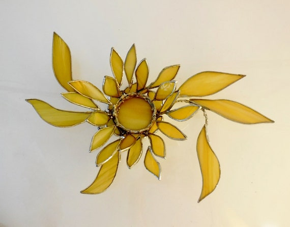 3D Flower Candle Holder. Unique. One Of A Kind