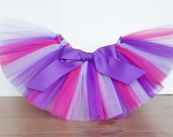 Hot pink, Purple & Light Purple tutu 'Sidni', girls tutu, pink and purple tutu, photo prop birthday size 5,6,7,8,10,12 skirt