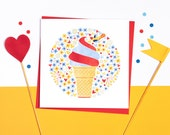 Ice Cream! Set of 5 cards