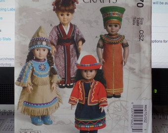 McCalls 6670--262--  18 inch Doll Clothes sewing pattern