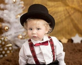 FULLSize Top Hat Child Size Toddler Big Boys.Weddings, Birthday,Ringmaster,Magician Hat, Sir Topem Hat.. Dressup....