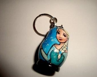 Elsa (Frozen) Doll Key Chain