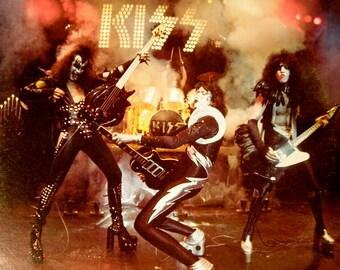 Kiss - Alive 2LP Set (w/ booklet insert) - 1975 - Casablanca NBLP 7020 - Vintage Vinyl Record Album