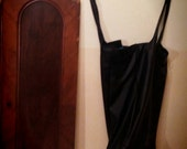 Big  XXXL  bag made from genuine Italian leather in black, custom order