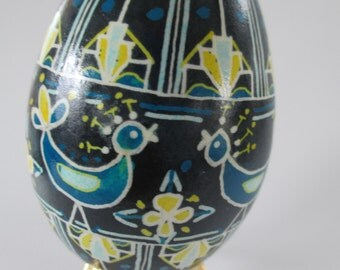 Ukrainian egg art pysanky goose egg Ukrainian Easter Egg egg