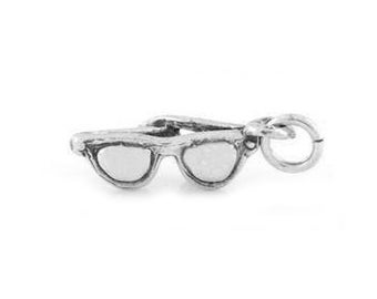 Sterling Silver Sunglasses Charm (3d charm)