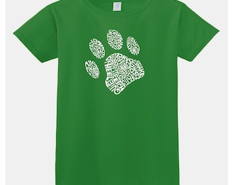 Women's T-shirt - Dog Paw