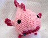 Small amigurumi blobfish - made to order