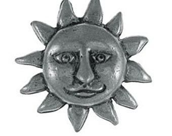 Sunface Lapel Pin - CC393