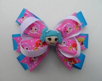Lalaloopsy Mittens Fluff 'N' Stuff Hair Bow, Clip or Barrette, Lalaloopsy Birthday