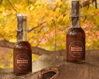 Bourbon Barrel Aged Maple Syrup - TWO bottles