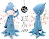 lalylala crochet pattern OCTOPUS OLEG - amigurumi