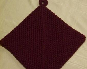 Potholder, Crocheted Potholder, Hot Pad, Hotpad, Housewarming, Home Decor, Autumn/Fall Potholder, Christmas Potholder
