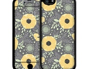 Gold Floral iPhone Case - iPhone 6 Case Skin, iPhone 5/5S Case Skin, iPhone 5c Cases, Iphone 4/4S case, iPhone 6 plus cases Skins