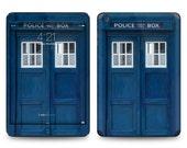 Apple iPad Air 2, iPad Air 1, iPad 2, iPad 3, iPad 4, and iPad Mini Decal Skin Cover - Police Box