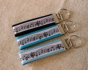 Music Key Fob, Bag Tag