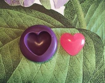 Flexible Mold - Puffy Heart
