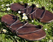 "Flexible Zero Drop Leather Sandals - ""FLEXI"""