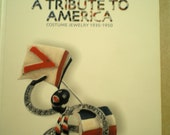 """RESERVED   Book  """"A Tribute To America"""" Costume Jewelry 1935-1950"""