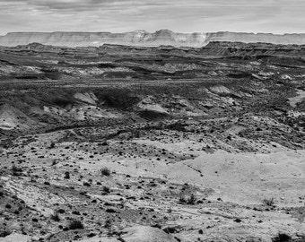 Utah Black and White Photography Print