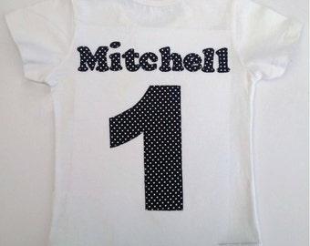 Personalised Football Birthday Tshirt