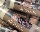 Unflavored Lip Balm -  Marine-Tested MARPAT Marine Desert Camouflage Chapstick from Lee the Beekeeper