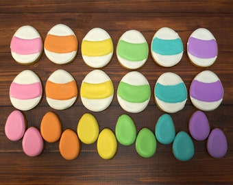 Decorated Cookies - Easter - Easter Eggs