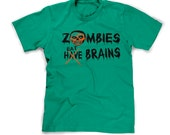Zombie Shirt Apocolypse T-Shirt Eat Flesh Tshirt Flesh Eating Zombie Attack Walking Dead 2XL 3XL T Shirt Mens Tee XL Guys Large Youth Green