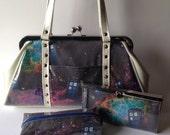 Doctor Who Kisslock Bag set