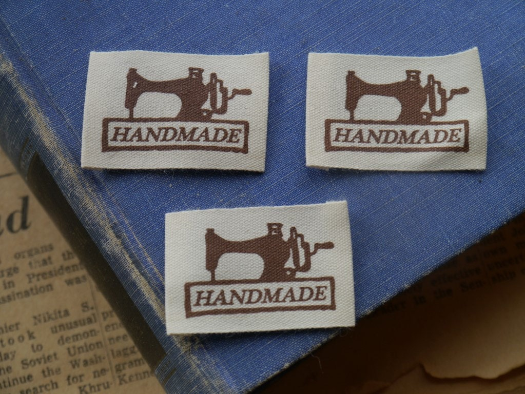 handmade labels for sewing 20pcs handmade sewing tags sew in labels sewing 6235