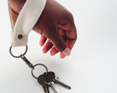 DIY KEYCHAIN; Design Your Own Bare Natural Wristlet Style Claw Clasp Key Chain