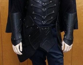 Leather Armor Nightingale Set