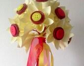 Lemon Red Paper Bouquet