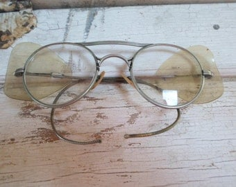 Steampunk, Goggles, Eyeglasses, Safety Glasses, Industrial, Vinyl Sides, Spectacles, Vintage Eye Glasses, Mens Eyeglasses, Props