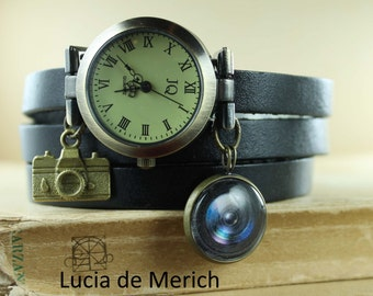 """Shop """"camera jewelry"""" in Watches"""