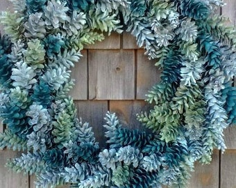Spring Pinecone Wreath- Made In Maine