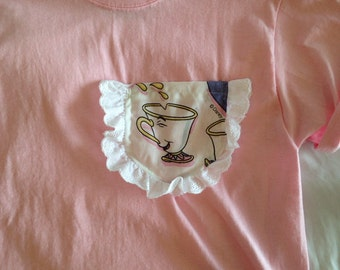 Chip Beauty and the Beast Pocket Tshirt