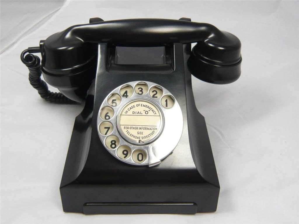 vintage bakelite telephone retro antique dial telephone. Black Bedroom Furniture Sets. Home Design Ideas