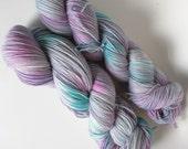 River on Max 80/20 SW Merino Nylon Hand dyed fingering weight sock yarn