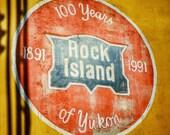 Rock Island Train Photo Print