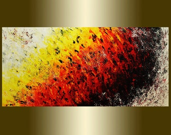 Original Abstract Painting oil Painting on Canvas palette knife.Contemporary colors Acrylic painting Surreal Painting Wall Art