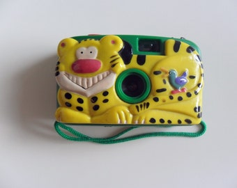 Tiger Plastic tested toy Camera, film camera, plastic lens, 80's, Retro Camera, 35mm film camera, HongKong old stuff, Export to the world